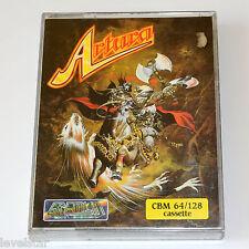 Artura C64 por Gremlin Entubado Commodore 64 Juego Original Cinta De Casete