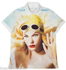 PHIL POYNTER 'Angela Lindvall', 2008 Lacoste Polo Shirt S VISIONAIRE #54: SPORT