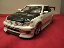 Jada LEXUS IS300 1:24 Scale Import Racer,new no box pearl white 2003 release HTF