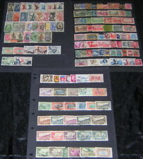 France Pre-independence Africa Colonies Collection 138 diff used stamps