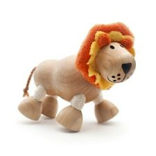 New Lion Wooden Toy With Flexible Limbs By Anamalz Wild Animals