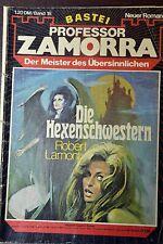Professor Zamorra Nr. 18, Erstdruck, Die Hexenschwestern, Zustand: 3