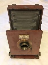 Rare Victorian Antique J.Robinson & Sons The Boy's Own London Hand Camera