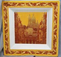 quadratische Schale Rosenthal, Geschenkserie, Christmas Paris, 22 cm