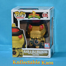 "Power Rangers - Black & Gold Dragonzord 15cm(6"") Vinyl Figure NYCC 2017 (RS)"