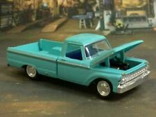 4th Gen 1961- 1966 FORD F100 Style Side V-8 Pickup 1/64 Scale Limited Edition C2