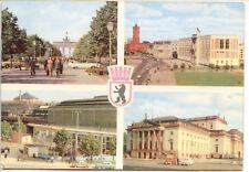 CP Allemagne Deutchland - Berlin - Multivues Uaupstadt des DDR
