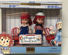 Barbie Tommy and Kelly Raggedy Ann and Andy Storybook Collection 2000 Nib Mint