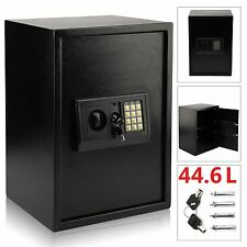 LARGE HIGH SECURITY ELECTRONIC DIGITAL SAFES STEEL HOME OFFICE MONEY SAFETY BOX