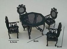 Mobilier vintage pour maison de poupées miniature | eBay