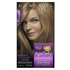 Clairol Age Defy Expert Collection Medium Golden Blonde 8G, READ, DAMAGE BOX