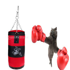Boxing Punching Bag MMA Training Equipment Four Parts Set for Kids/Adults