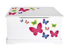 Spielzeugkiste, Kiste für der Spielzeuge, Motiv: Schmetterlinge 102/244161M