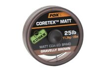 Fox Matt Coretex Gravelly Brown 15lb - 20m