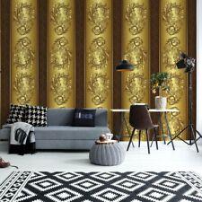 Tapete Fototapete Vlies Luxus Gold Ornamentale Muster