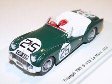 1/43 Spark Triumph TR3 S car #25 24 Hours Le Mans 1959 Jopp Stoop S1395
