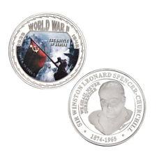WR 1945 Germany Berlin Soviet World War II Memorial Silver Collectors Coin Medal