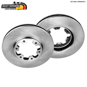Front Rotors For Nissan Frontier 4WD 2WD 2003 2004 XTerra 2000 2001 2002 2004