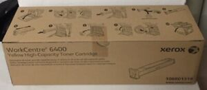 Xerox WorkCentre 6400 Yellow High-Capacity Toner Cartridge 106R01319