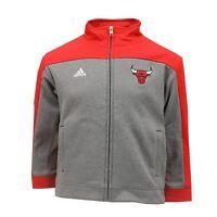 Chicago Bulls NBA Adidas Youth Kids Size Full Zip Athletic Sweatshirt New Tags