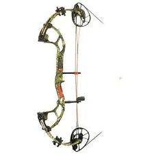 """New PSE Inertia Right Hand 24.5 - 30"""" Country Camo 60 lbs. Compound Bow"""