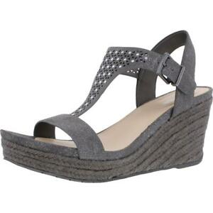 Kenneth Cole Reaction Womens Card Wedge 2 Open Toe Espadrilles Shoes BHFO 2517