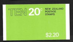 NEW ZEALAND, 1981  $2.20, BOOKLET SB 36, MNH, COMPLETE, CAT £2.25