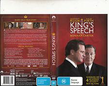 Kings Speech-2011-Colin Firth-Movie-DVD