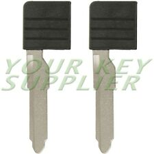 2 New Replacement Insert Blade D4Y1-76-2GXA For Mazda Smart Card w/Out Chip