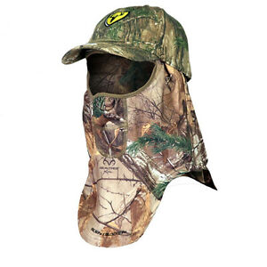 ScentBlocker Cap and Facemask Hat Realtree Xtra Camo OSFM with Trinity FMCT