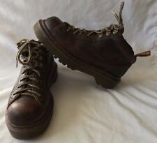 Dr. Doc Martens Air Wair 8287 Brown Leather Ankle Boots Women's Size 4