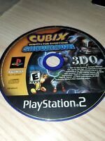 Cubix: Robots For Everyone Showdown (PS2, PlayStation 2) Disc Only, Tested!