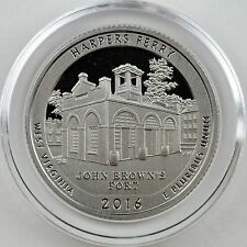 2016-S Harpers Ferry Clad Proof Quarter in Crystal Clear Coin Capsule
