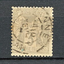 ZZBA 086 FRANCE 1880 USED MICHEL 77