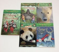 Lot of 5 Children's Books - Magic Treehouse Series - Mary Pope Osborne