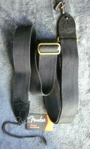 Fender Gitarrengurt Cotton Strap XXL, black