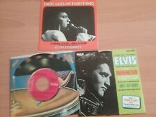 Elvis Presley: Blue Christmas, There Goes Everything & Rubberneckin' NM 45 RPM's