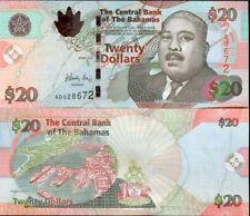 BAHAMAS - 20 $ issue 2010 - UNC