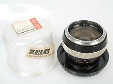 Carl Zeiss Contarex Planar 1,4/50 50mm 1:1,4 + TOP + Plexi case + cap **ANKAUF**