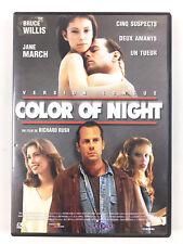 DVD Color of Night De Richard Rush / Bruce Willis