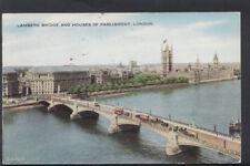 London Postcard - Lambeth Bridge and Houses of Parliament  RS6691