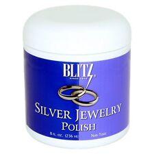 Blitz Silver Jewelry Polish - 8oz