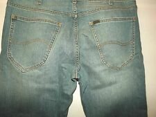 "SLIM STRAIGHT FIT JEANS W36"" L32""  (LABEL CUT) 814"