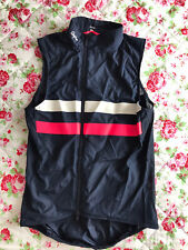 Mens Rapha Brevet Gilet Vest with Pockets Size Small Navy