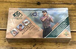 2003 SP AUTHENTIC TIGER WOODS GOLF FACTORY SEALED BOX CASE FRESH AUTOS PGA TOUR