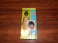 """1968 TALKING """"JULIA"""" NEW TV STAR DOLL BY MATTEL. MIB/FACTORYSEALED"""