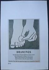 Roy Lichtenstein,Foot Medicine,Handshake,Leo Castelli Gallery 1963 Mini Poster39