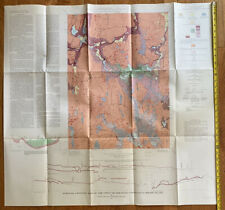 Vintage Map Of The Oneco Quadrangle, Connecticut-Rhode Island 1971