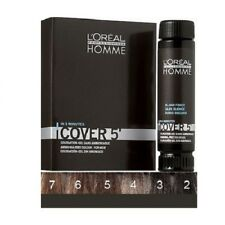 3 x Loreal Homme Coloration NO 4, 50 ml mittelbraun