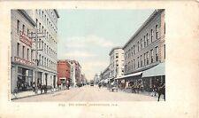 c.1905 Stores Bay St. Jacksonville FL post card